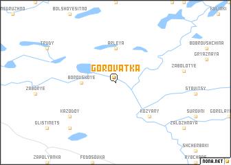 map of Gorovatka