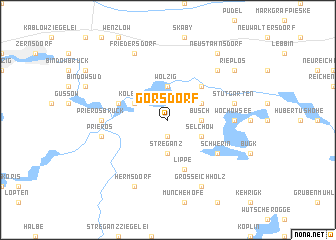 map of Görsdorf