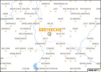 map of Góry Kęckie