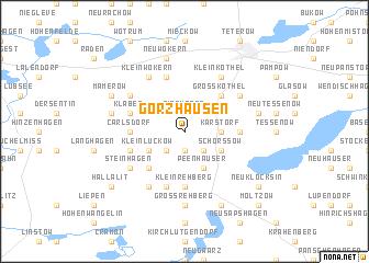 map of Görzhausen