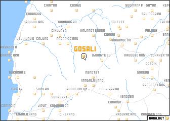 map of Gosali