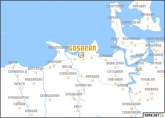 map of Gosaran