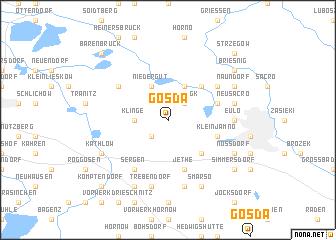 map of Gosda
