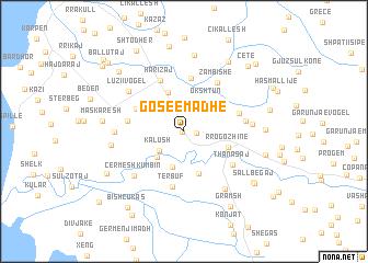 map of (( Gosë e Madhe ))