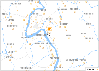 map of Gosi