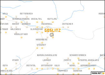 map of Goslitz
