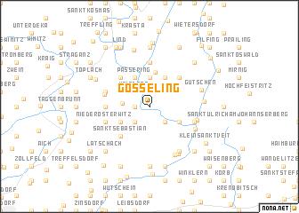 map of Gösseling