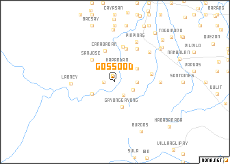 map of Gossood