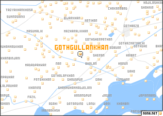 map of Goth Gullan Khān