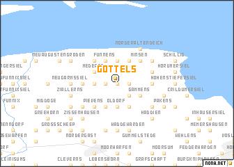 map of Gottels