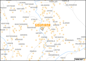 map of Gourianá