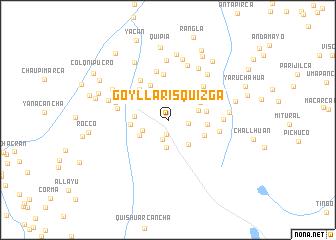 map of Goyllarisquizga