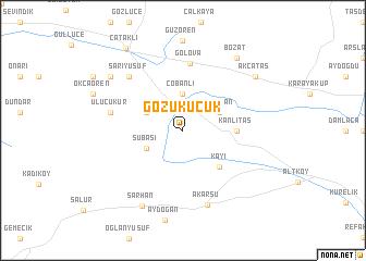 map of Gözüküçük