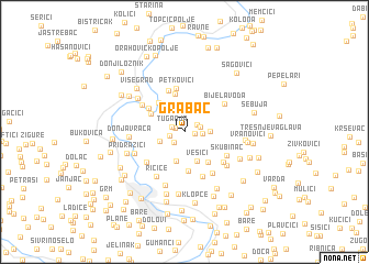 map of Grabac