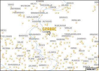 map of Grabac
