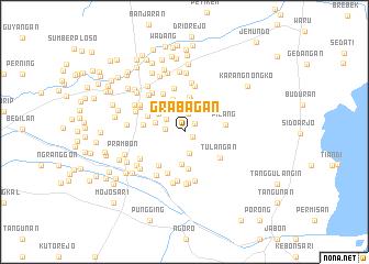 map of Grabagan