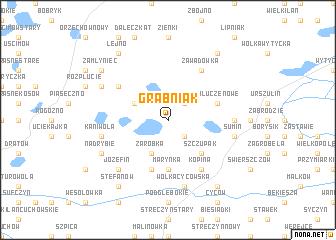 map of Grabniak