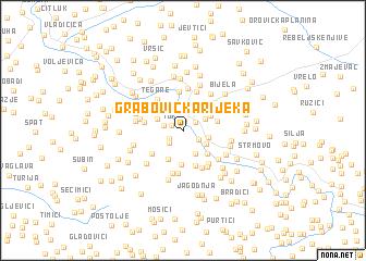 map of Grabovička Rijeka