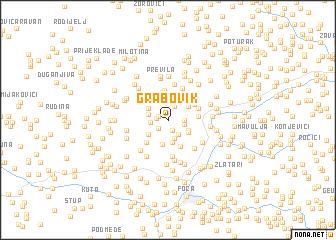 map of Grabovik