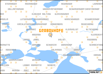 map of Grabowhöfe