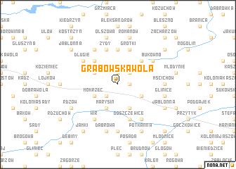 map of Grabowska Wola