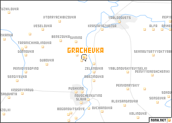 map of Grachëvka