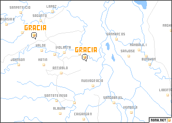 map of Gracia