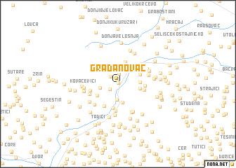 map of Gradanovac