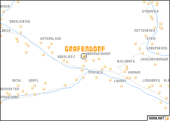 map of Grafendorf