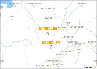 map of Gramales