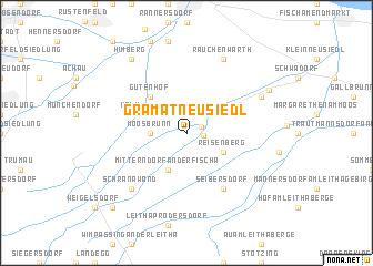 map of Gramatneusiedl