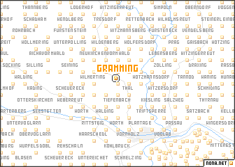 map of Gramming