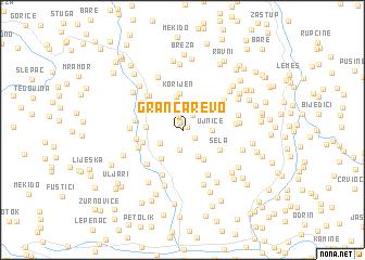 map of Grančarevo