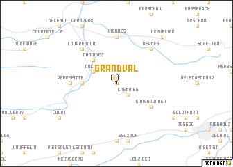 map of Grandval