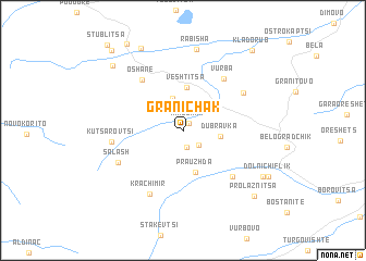 map of Granichak