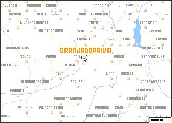 map of Granja do Paiva