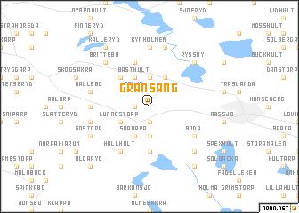 map of Gransäng
