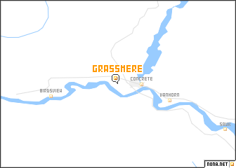 map of Grassmere