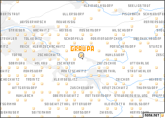 map of Graupa