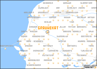 map of Grauwe Kat