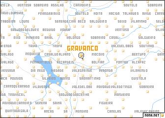 map of Gravanço