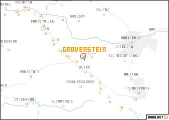 map of Gravenstein