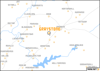 map of Graystone