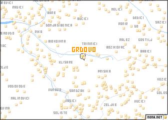 map of Grdovo