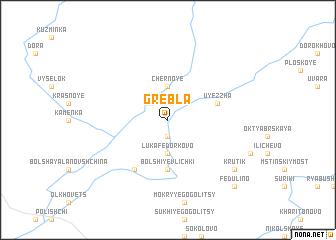 map of Grebla