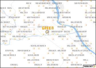 map of Green