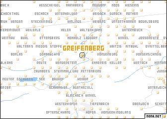 map of Greifenberg
