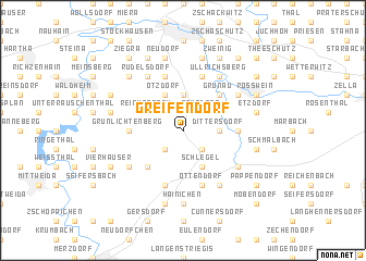 map of Greifendorf
