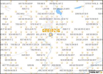 map of Greipzig