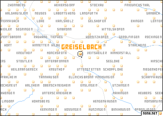 map of Greiselbach